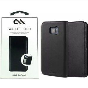 Case Mate leather Wallet Folio for asus zenfone V